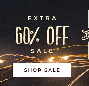 Extra 60% OFF Sale!