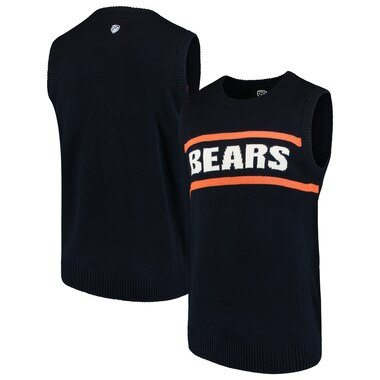 Chicago Bears G-III Sports by Carl Banks Crewneck Sweater Vest - Navy