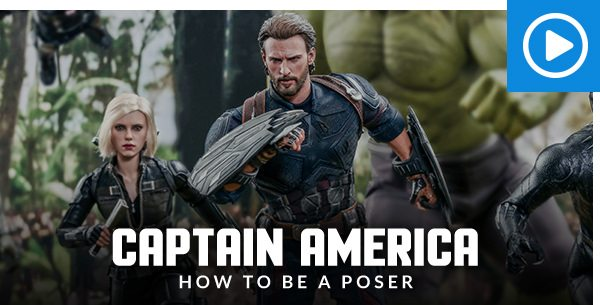 Captain America Movie Promo Sixth Scale Figure by Hot Toys - How to be a Poser