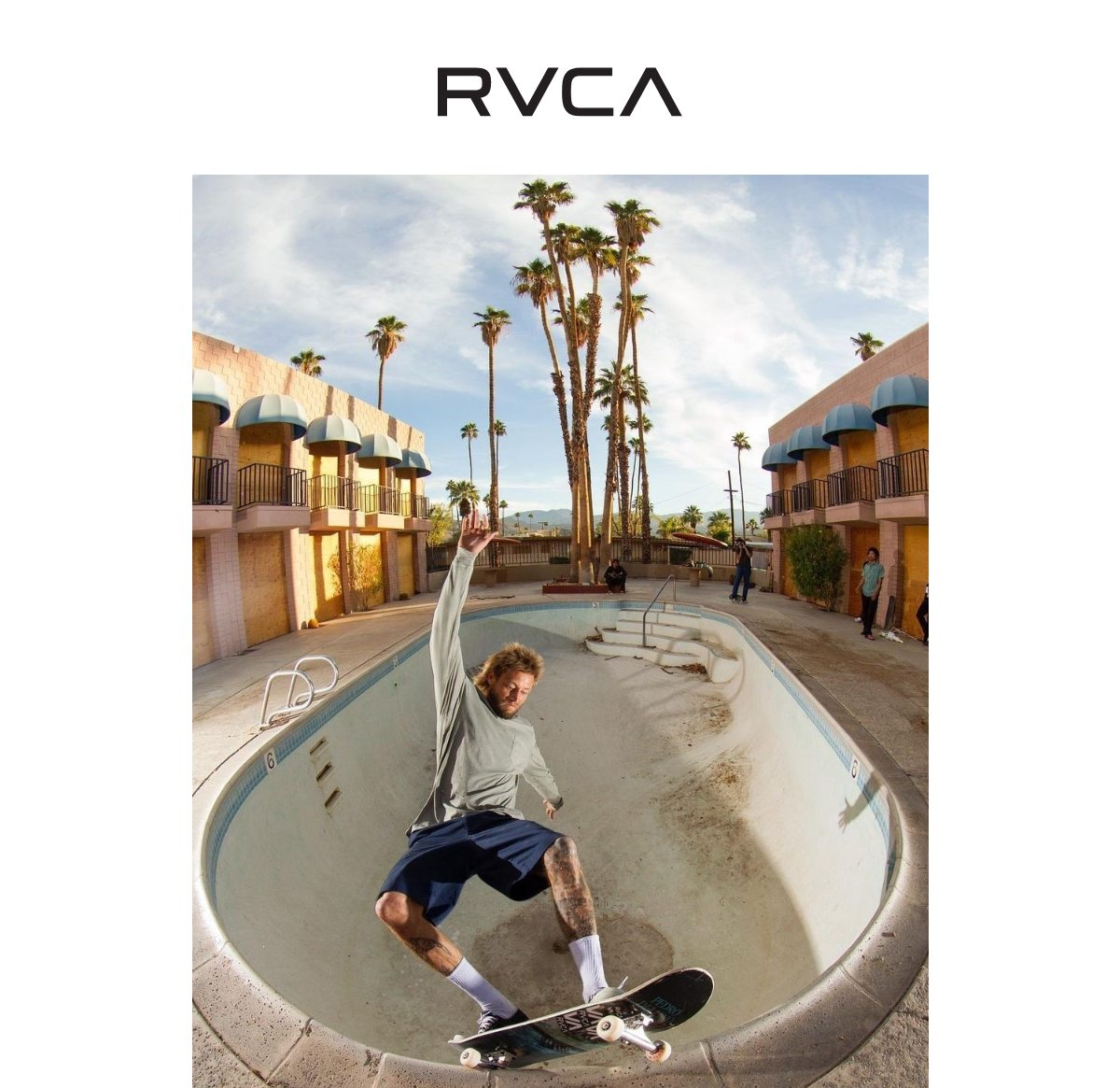 RVCA - New in tees and hoodies