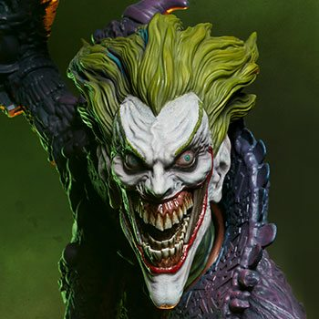 The Joker Statue by Sideshow Collectibles Gotham City Nightmare Collection