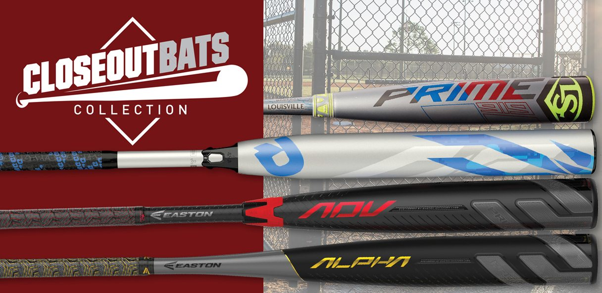 CLOSEOUT BATS COLLECTION