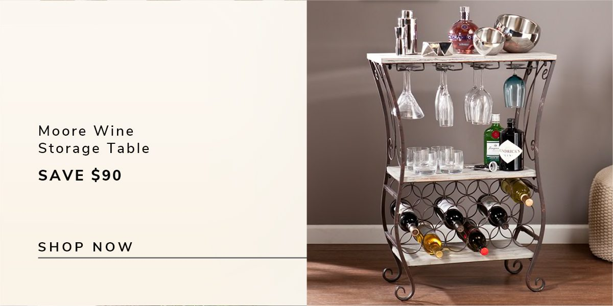 Moore Wine Storage Table | SHOP NOW