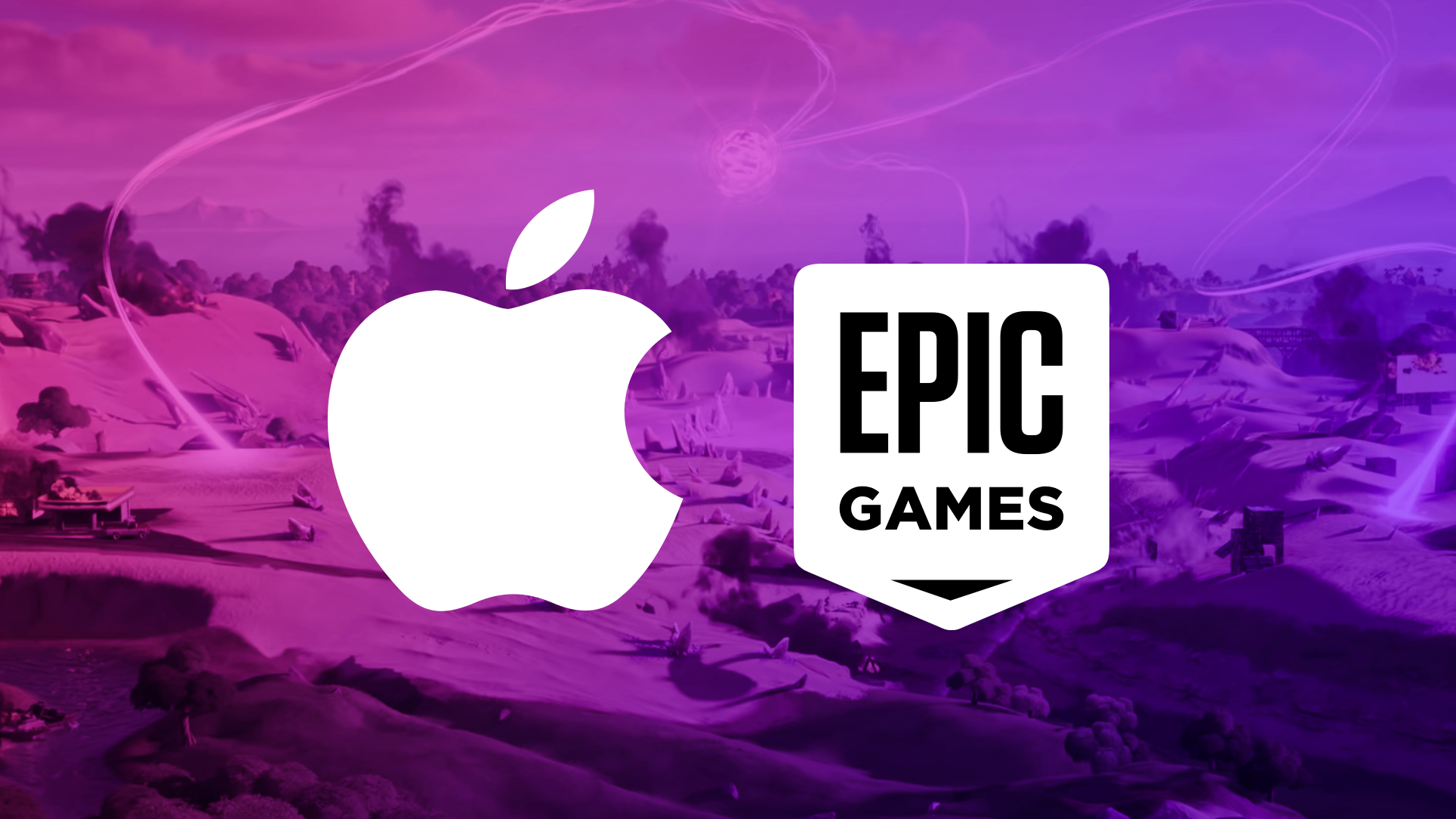 Apple and Epic Logo
