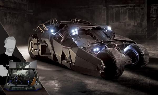 Make this BatMobile your own The Dark Knight RC Tumbler - Deluxe Pack Miscellaneous Collectibles by Soap Studio