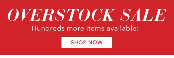 Overstock Sale! Up To 65% Off Limited Time! Shop Now