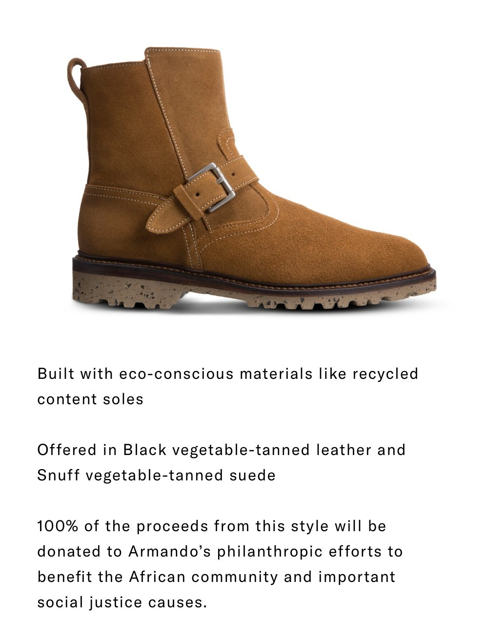 Limited Edition Discovery Moto Boot by Armando Cabral