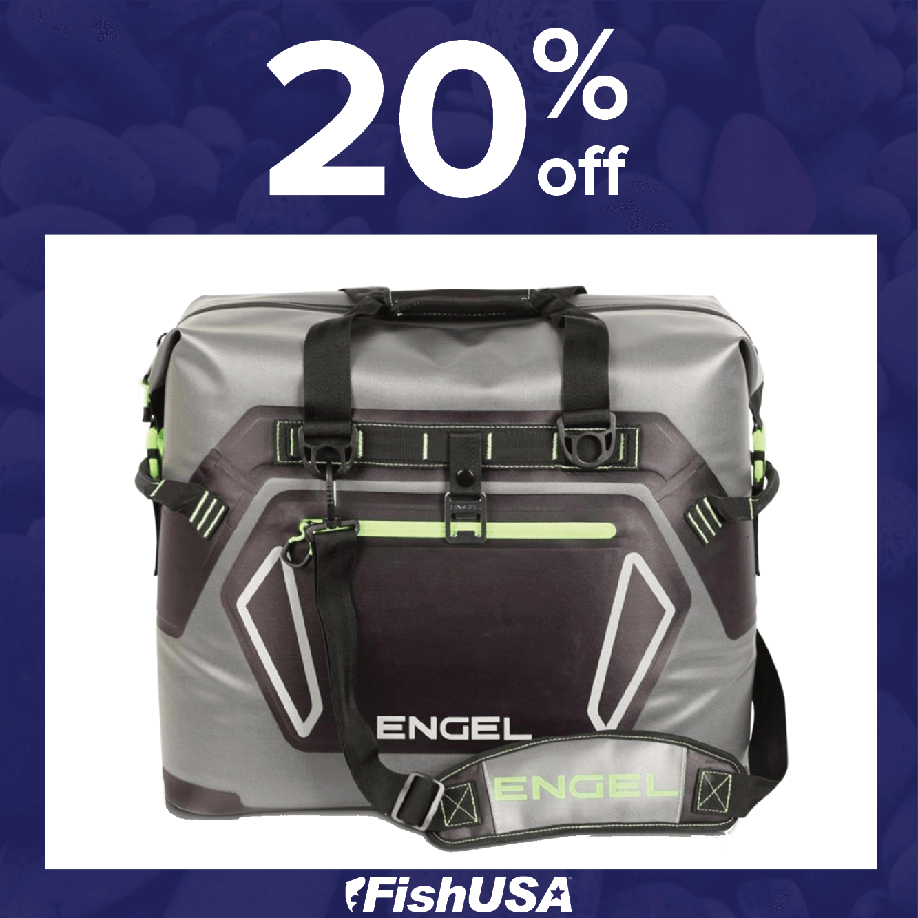 20% off the Engel High-Performance Waterproof Soft-Sided Cooler