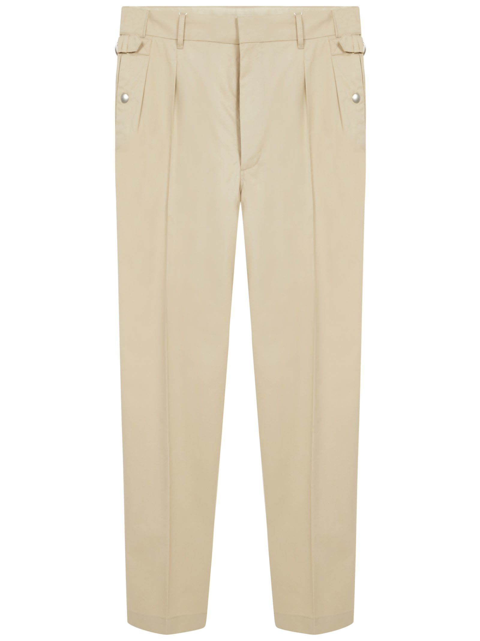 Image of Side Strap Trousers