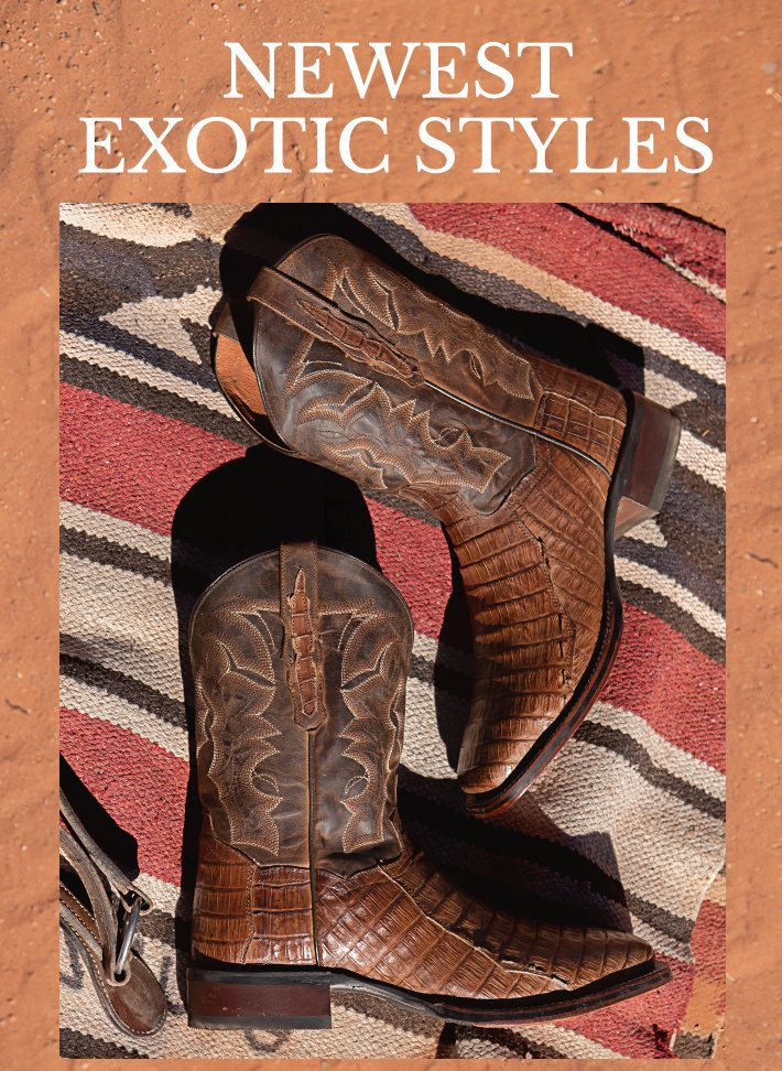4e98200adc3 All New Exotic Boots - Boot Barn Email Archive