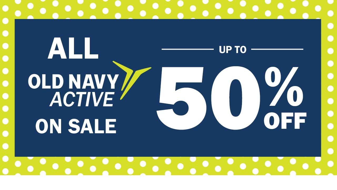 All Old Navy active on sale