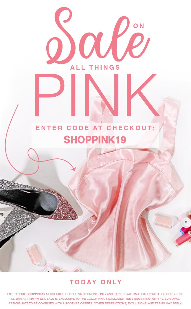 SHOP ALL THINGS PINK