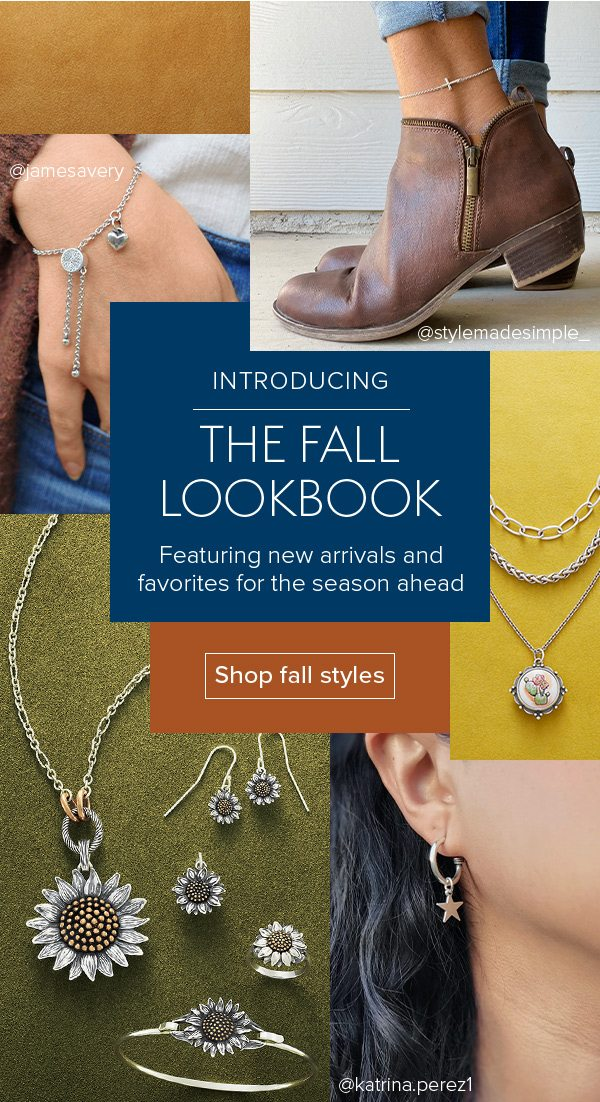 INTRODUCING The Fall Lookbook - Featuring new arrivals and favorites for the season ahead - Shop fall styles