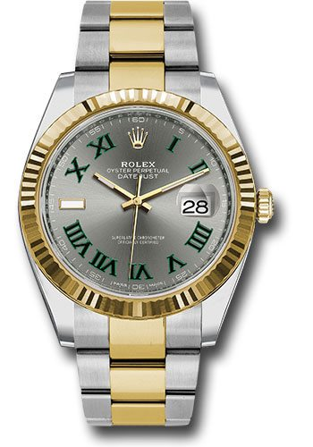 Image of Rolex Oyster Perpetual Datejust Stainless Steel & 18K Yellow Gold 41mm Mens Watch