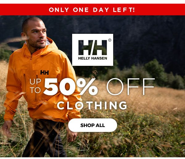 Up to 50% OFF Clothing - Click to Shop All