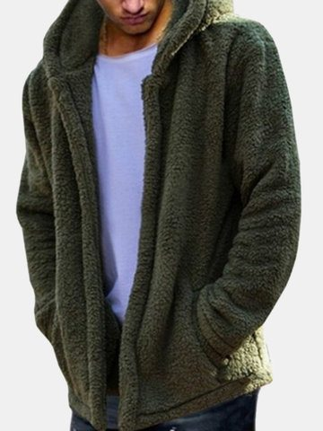 Casual Loose Fleece Warm Coat