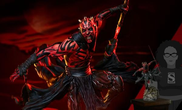 BESTSELLER Darth Maul™ Mythos Statue by Sideshow