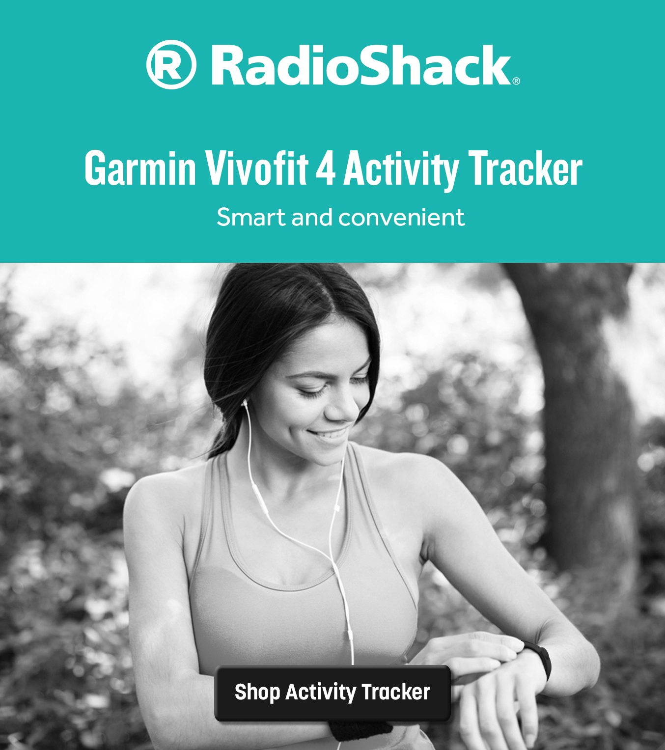 Garmin vívofit 4 Activity Tracker - Black