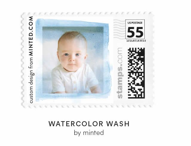 Watercolor Wash by Minted