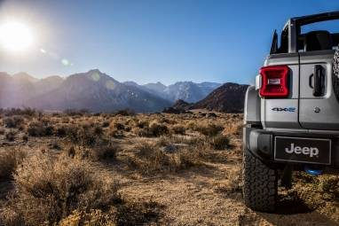 Electrified Jeep Brings a Green Touch to Off-Road Adventures