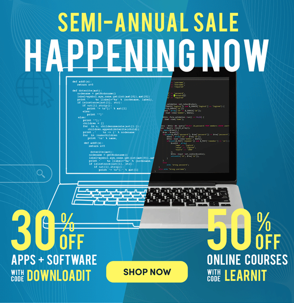 Our Semi-Annual Happening Now | Shop Now