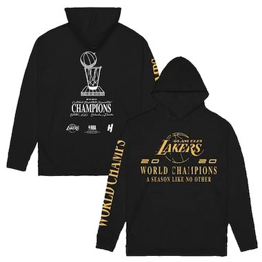 Los Angeles Lakers 2020 NBA Finals Champions Bleacher Report x House of Highlights Pullover Hoodie - Black