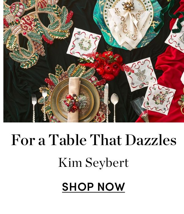 For a Table That Dazzles