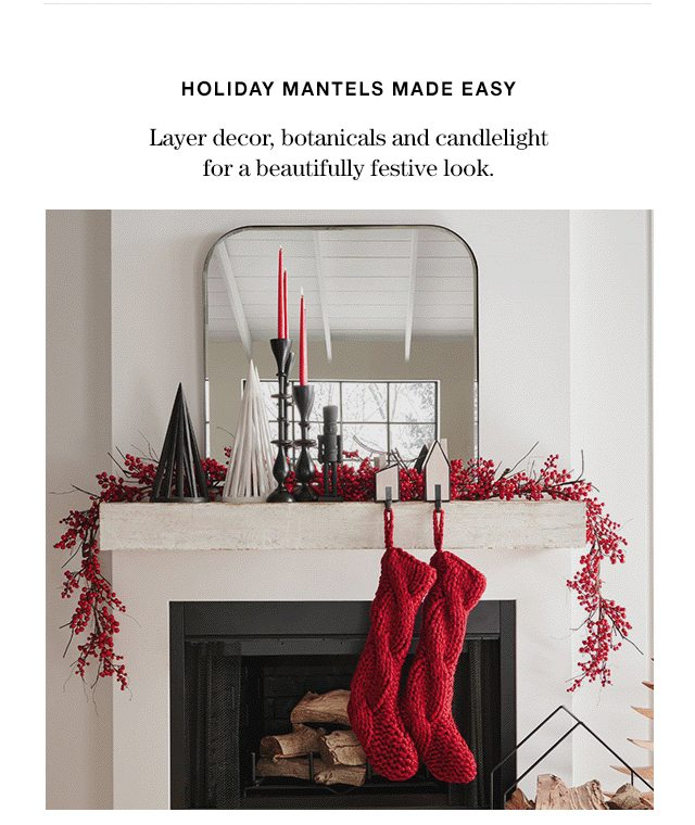 holiday mantles made easy