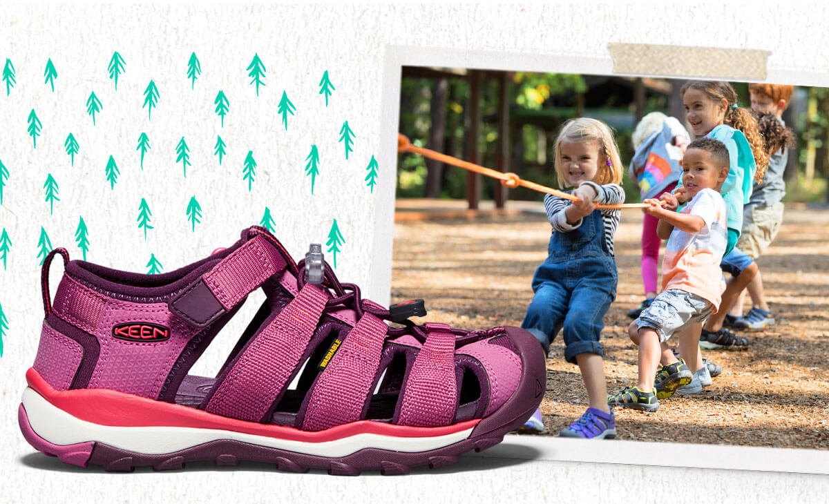 "2aafbd1fee5d Check summer camp sandals off your list with our handy guide for choosing  the best kids  footwear…for ""the best summer ever!"""