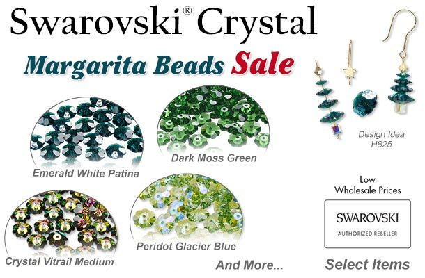 4d8dc545b SALE] Swarovski Margarita BEADS - Starts Now - Fire Mountain Gems ...
