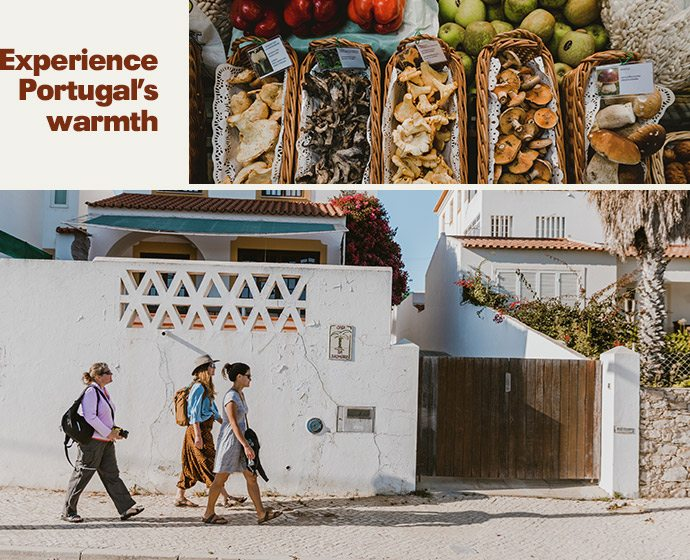 Experience Portugal's warmth