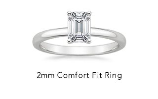 2mm Comfort Fit Ring