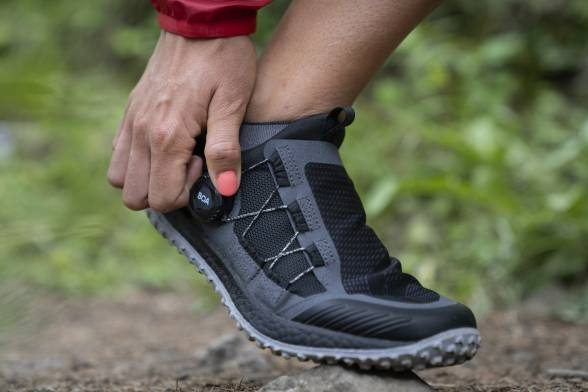Ultimate Fit: The BOA Fit System x Saucony Switchback 2 Trail Shoe