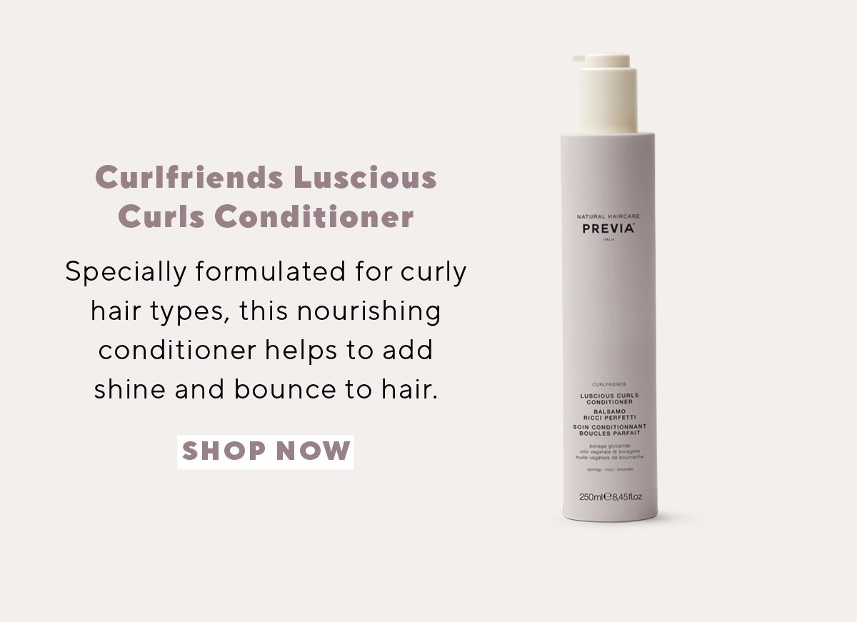 Previa Curlfriends Luscious Curls Conditioner