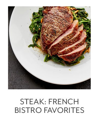 Class: Steak: French Bistro Favorites
