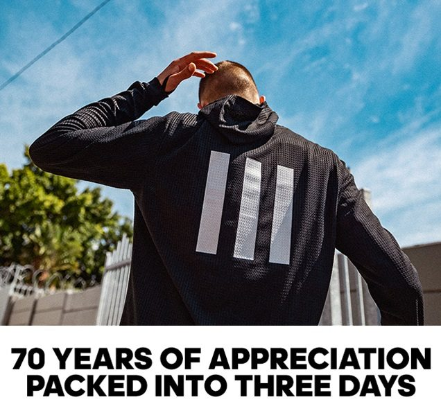 70 YEARS OF APPRECIATION PACKED INTO THREE DAYS