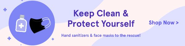 Face Masks and Hand Sanitizers