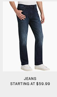 Jeans starting at $59.99