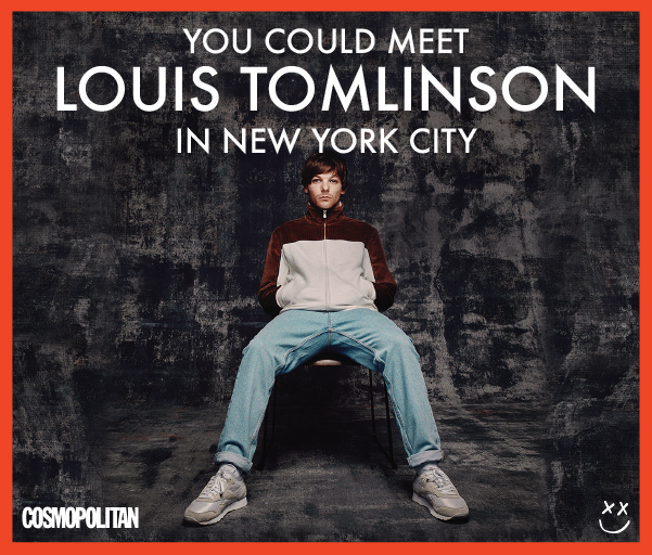You could meet Louis Tomlinson in New York City!