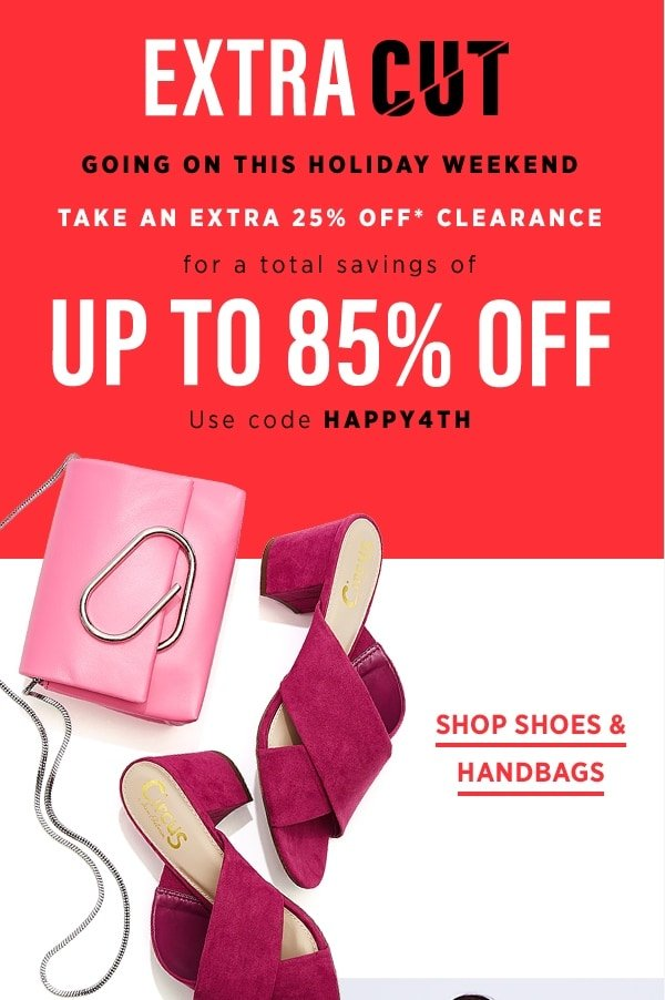 b9871c9bc92 This weekend  clearance savings up to 85% OFF! - OFF 5TH Saks Fifth ...