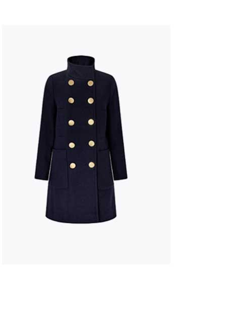 LOUIS FUNNEL NECK COAT