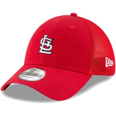 St. Louis Cardinals New Era Team Precision 39THIRTY Flex Hat – Red