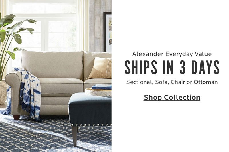 Everyday value. Ships in 3 days. Four performance fabrics.
