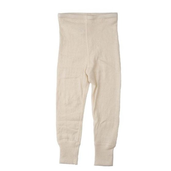 wool + silk long johns