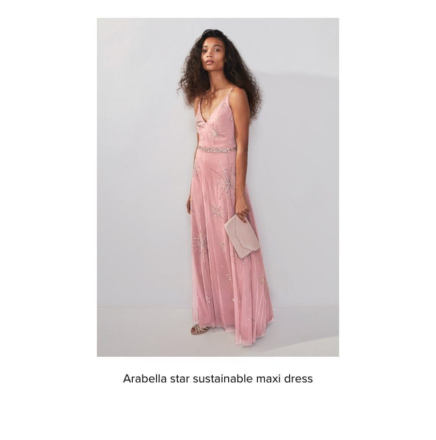LARABELLA STAR SUSTAINABLE MAXI DRESS