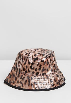 Leopard TPU Bucket Hat