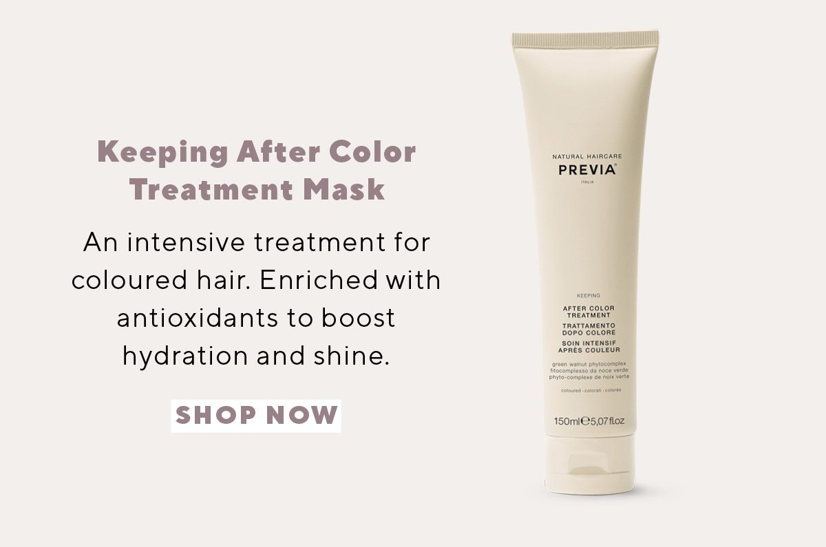 Keeping After Color Treatment Mask