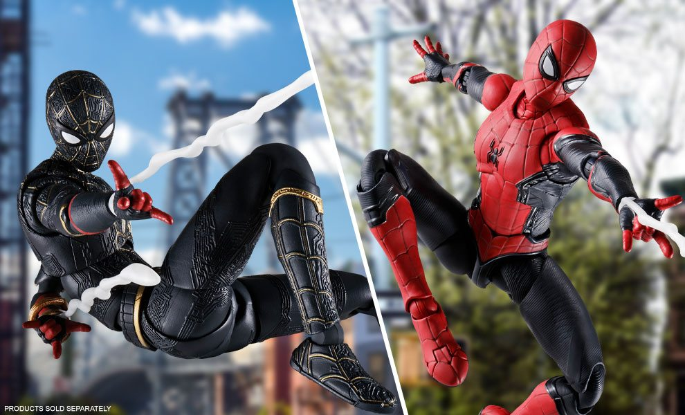 NEW Spider-Man Figures by Bandai