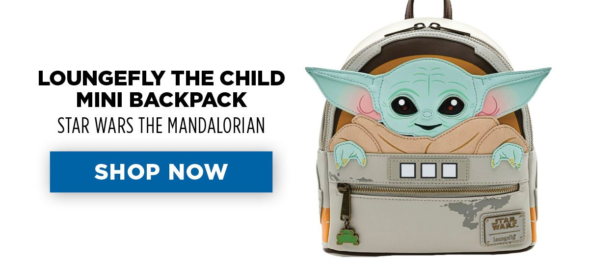 Loungefly - the Child - Mini Backpack