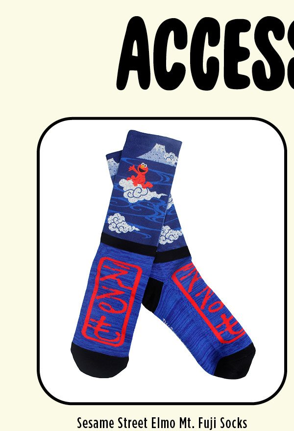 Elmo Mt. Fuji Socks